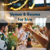 Venue & Room for hire!