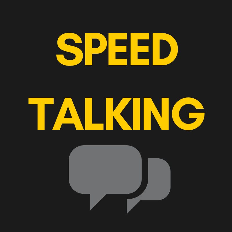 Speed Talking 18.12 at 5 PM