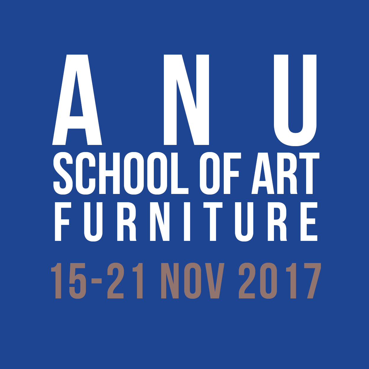 ANU School of art furniture workshop 15-21Nov