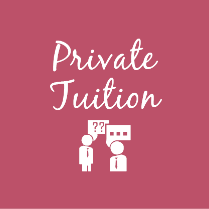 Private One on One Tuition