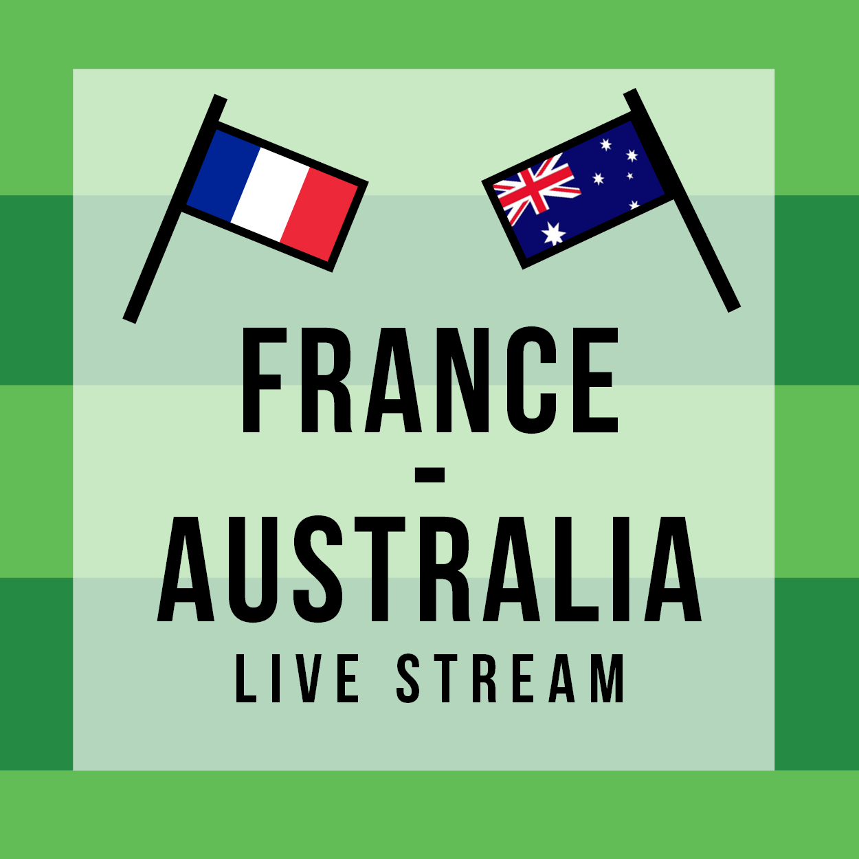 16th June 2018 - FRANCE - AUSTRALIE  Live stream - FIFA World Cup